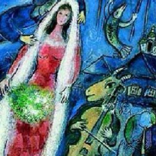 Chagall Quot Nothing Says Love Like A Violin Playing Goat
