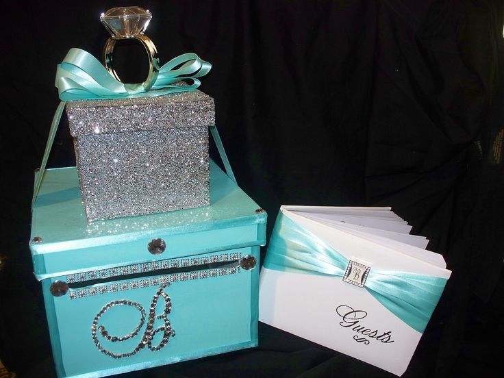 Bridal Shower Gifts Bridesmaid S Mint Gift Bag With Satin Ribbon