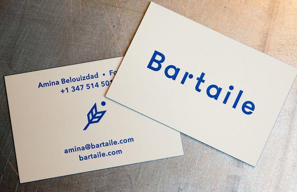 Bartaile letterpress business cards workhorse printmakers bartaile letterpress business cards workhorse printmakers houston reheart Choice Image