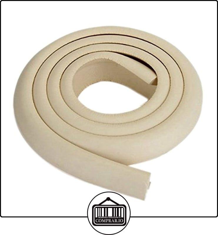R SODIAL Protector 2m Esquina Mesa Mueble Antigolpes Seguridad para Ninos Bebe Beige