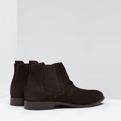 Elásticos Piel Zapatos Hombre Botas Desestructurado Y Botines Botín PluwkZXOiT
