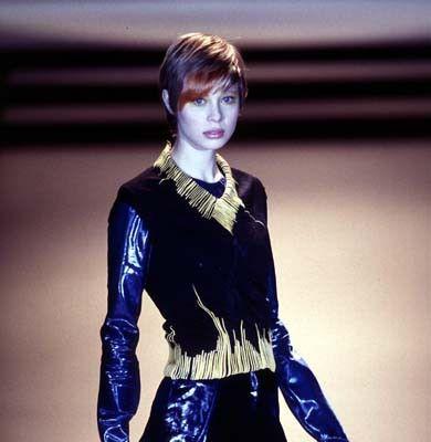 Photos of Israeli fashion model Nina Brosh. All types.