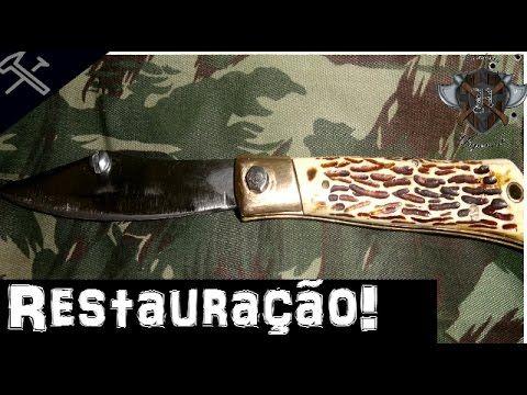 Restaurando canivete tramontina antigo-Cutelaria Haponiuk - YouTube