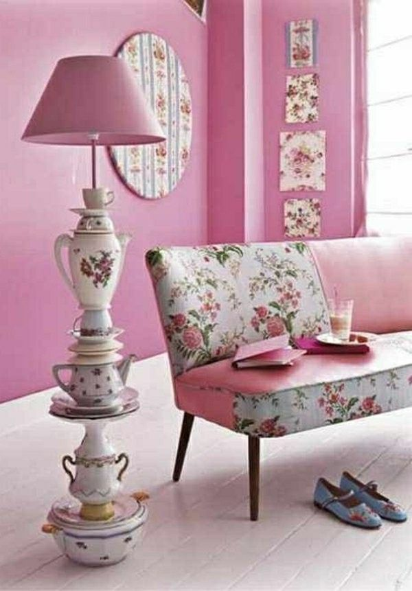 Attractive Home Accessories Pink Color Alice. Wonderland ...