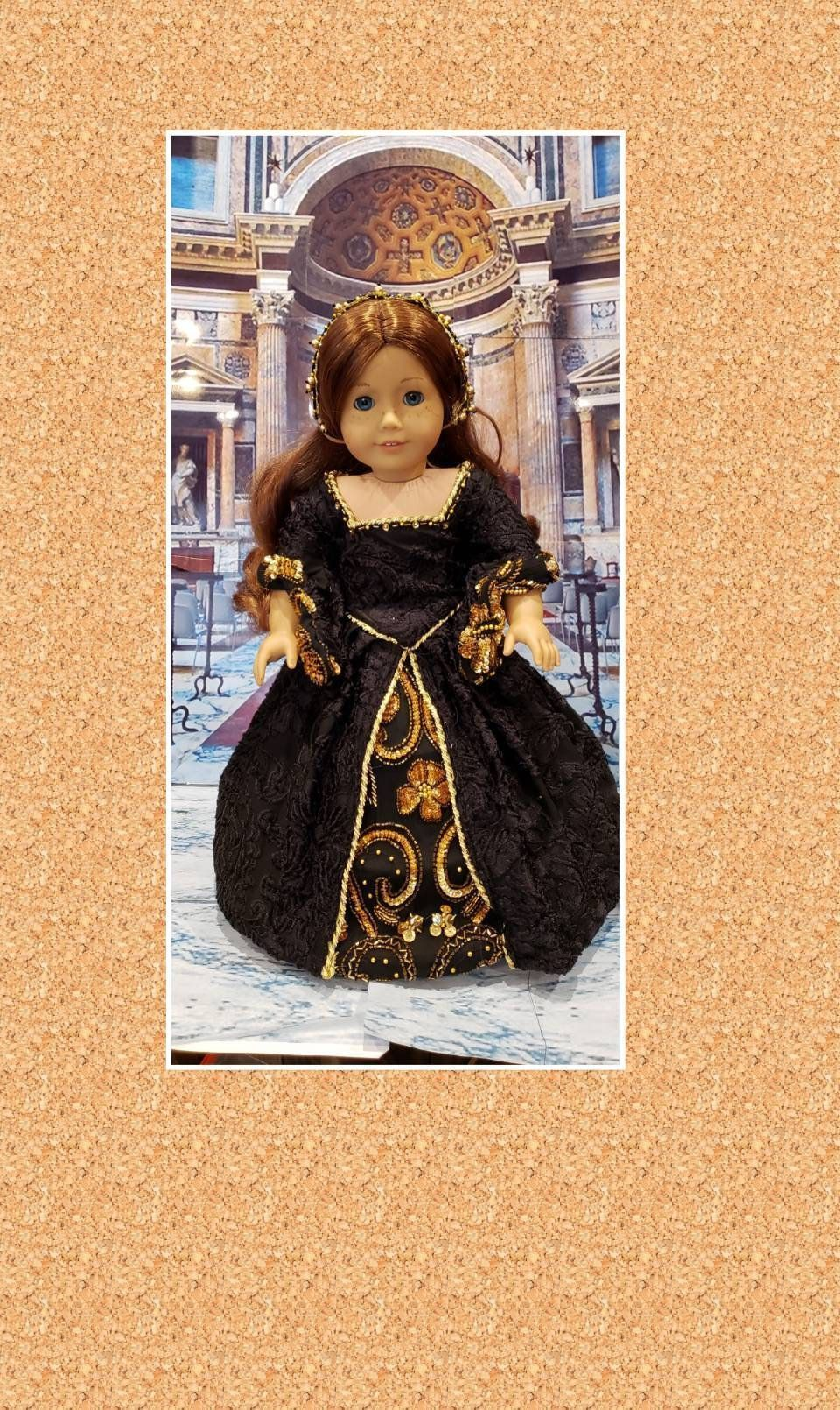 Historical 18 inch doll clothes Catalina of Aragon will fit American Girl® Royal Renaissance ensemble period clothing OOAK #historicaldollclothes Historical 18 inch doll clothes Catalina of Aragon will fit American Girl®   Royal Renaissance ensemble period clothing  OOAK #historicaldollclothes Historical 18 inch doll clothes Catalina of Aragon will fit American Girl® Royal Renaissance ensemble period clothing OOAK #historicaldollclothes Historical 18 inch doll clothes Catalina of Aragon will #historicaldollclothes