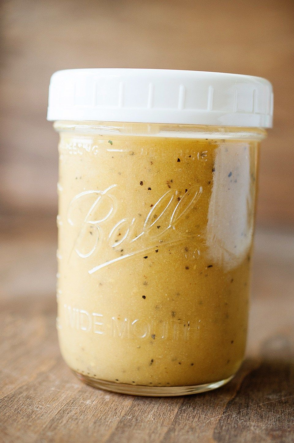 Simple And Quick Honey Mustard Vinaigrette