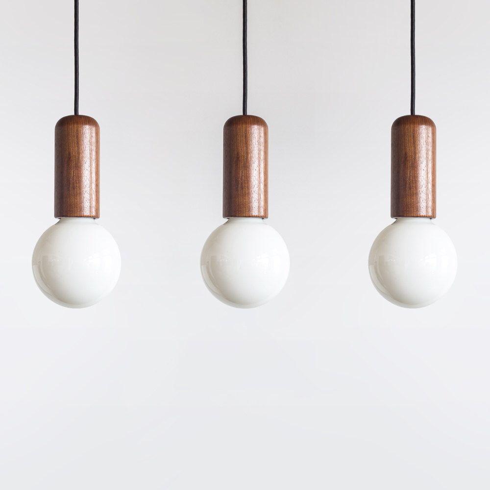 etsy lighting pendants. Andre Pendant Light - In Oregon Walnut Etsy Lighting Pendants