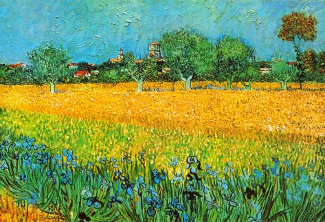 In 1888 Van Gogh Left Paris For The Quiet Reserves Of The Countryside Of Arles France There He Sought P Van Gogh Irises Vincent Van Gogh Vincent Van Gogh Art