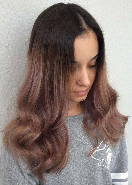 20 pretty chocolate mauve hair colors ideas to inspire hair