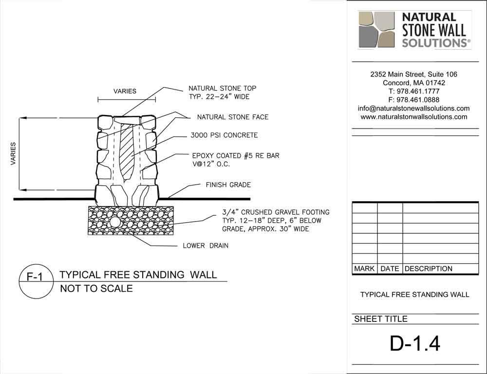 2015 Free Dwg Jpg 1 000 768 Pixels Stone Wall Concrete Epoxy Natural Stone Wall