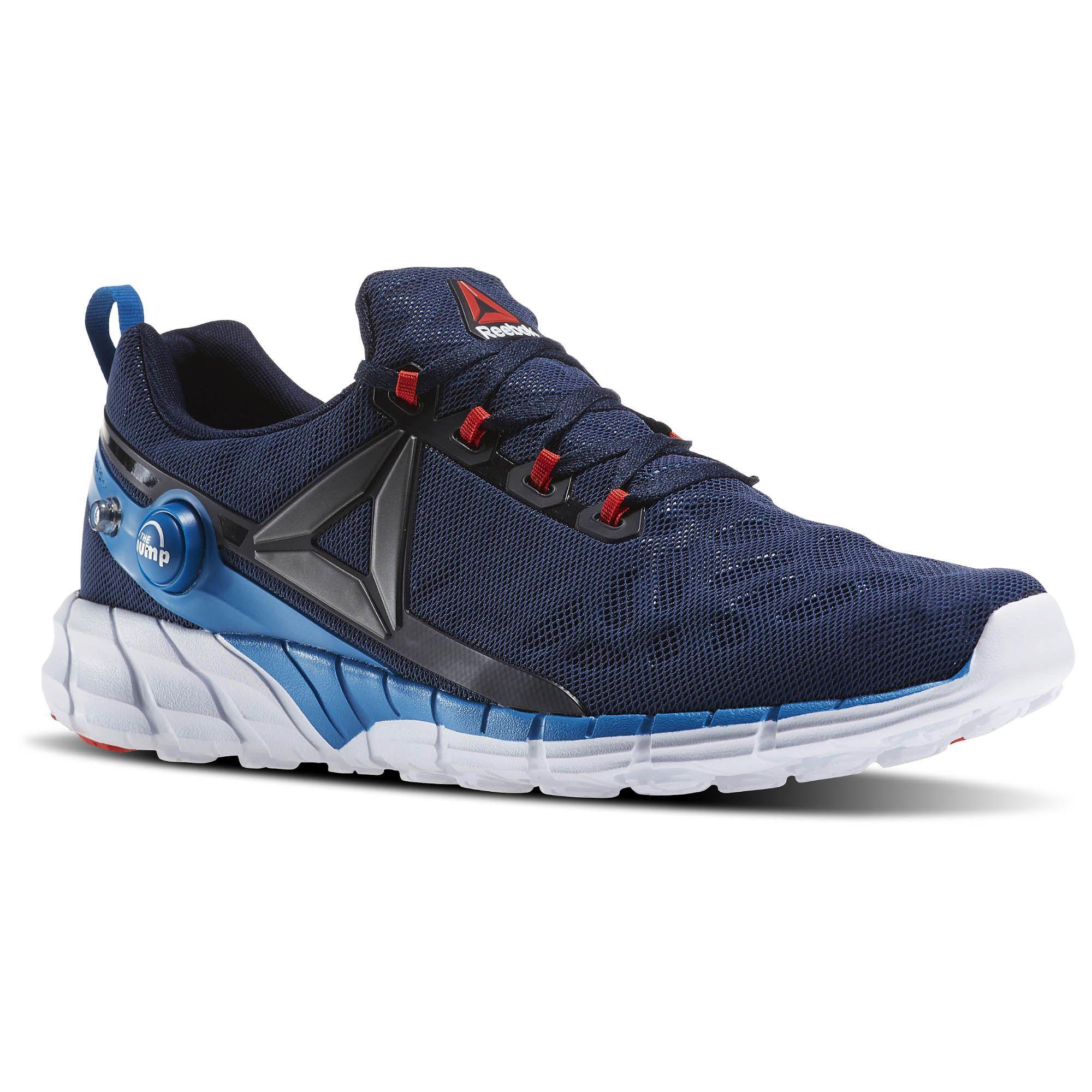 Reebok AR0086 REEBOK ZPUMP FUSION 2.5 Lacivert Erkek Yürüyüş Koşu Ayakkabısı