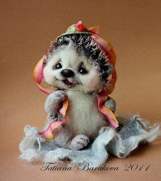 Фото: Очень милые игрушки из шерсти от Бараковой Татьяны ...