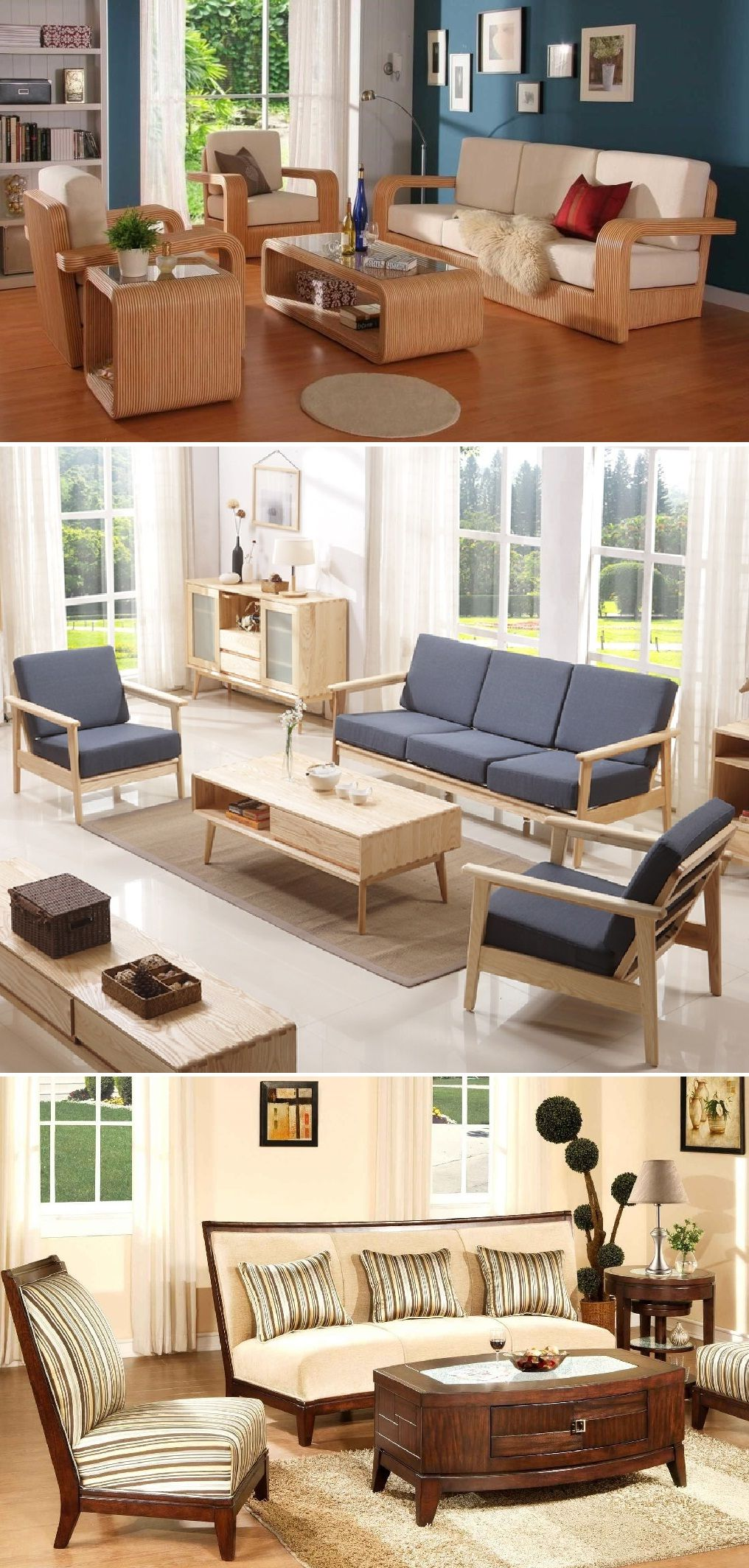 Simple Wooden Sofa Design For Drawing Room Couches And Furniture