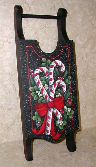 Image result for Free woodem sleigh Tole Painting Designs #tolepainting Image result for Free woodem sleigh Tole Painting Designs #tolepainting
