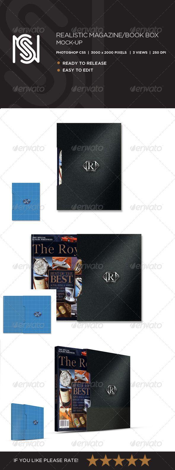 Download Magazine Or Book Box Mockup Box Mockup Magazine Mockup Book Box