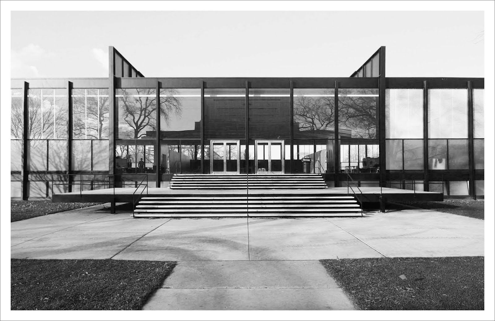 mies van der rohe crown hall illinois institute of technology chicago 1950 56 mies van der. Black Bedroom Furniture Sets. Home Design Ideas