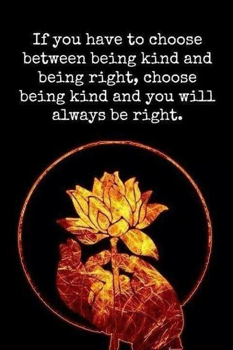 If You Have To Choose Between Being King And Being Right Choose