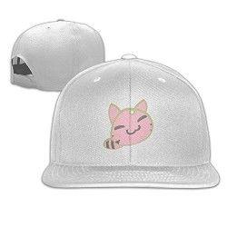 59c3469c75c WhiteCustom Baseball Hat Animal Cat Stylish Light Outdoor Men women ...
