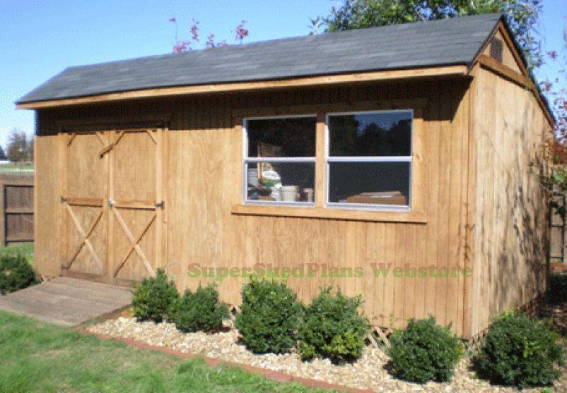 Custom Design Shed Plans, 10X20 Gable Garden, Easy Step By Step  Instructions Cd #buildingashed #diyshedplans