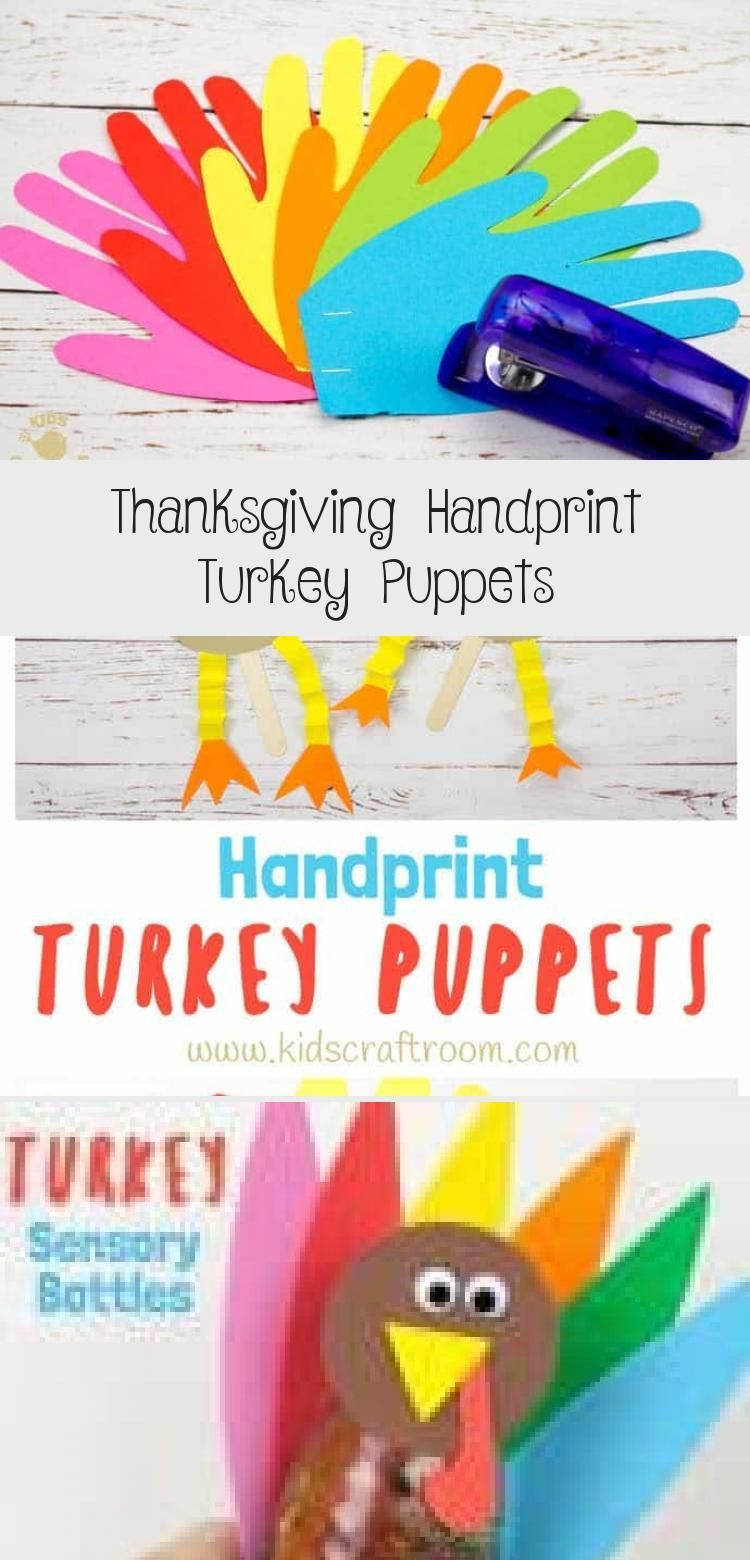 These Thanksgiving Handprint Turkey Puppets are such a fun way to keep the kids entertained this holiday and because the turkeys feathers are made from handprints theyre...