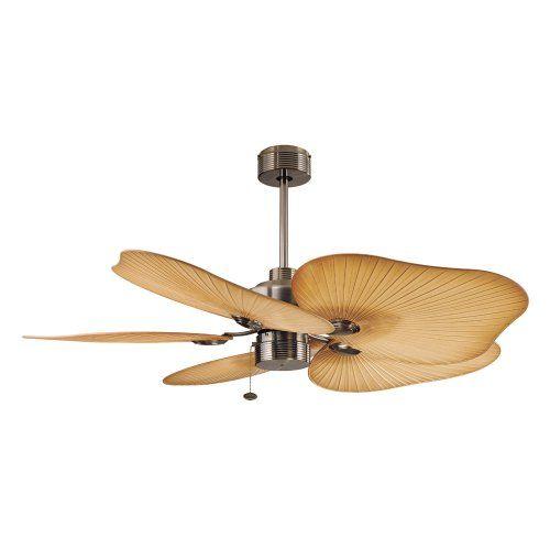 Ellington Tah52cb5 Tahiti 52 Inch 5 Blade Ceiling Fan Caribbean Br