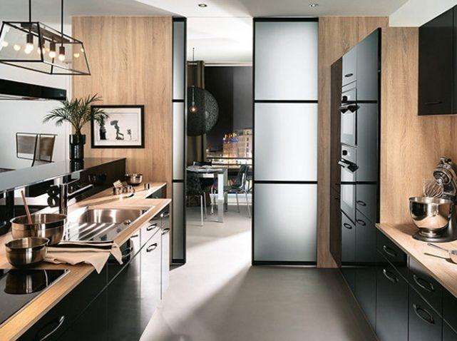 Aménager une cuisine semi-ouverte sans travaux Amenagement de