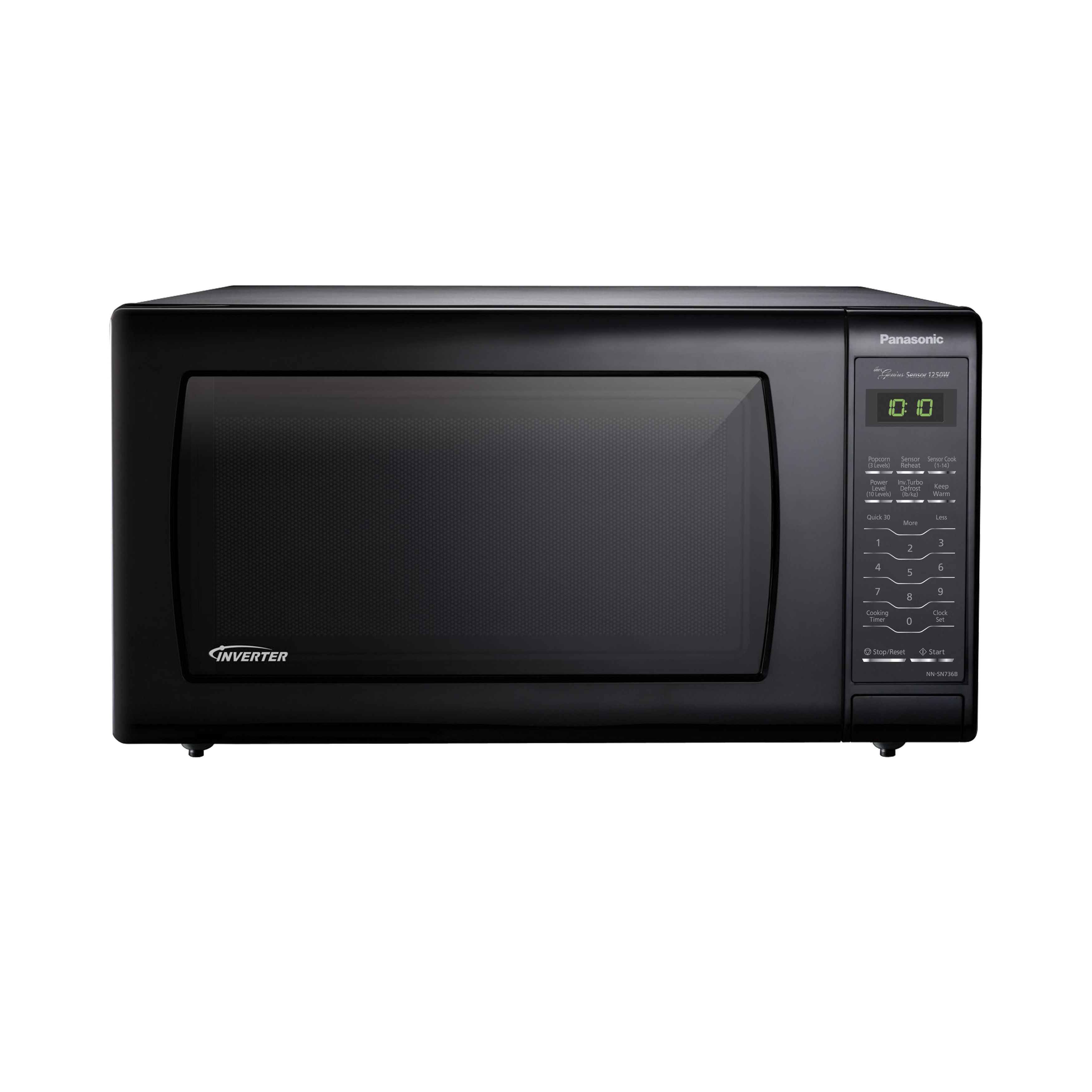 Panasonic Microwave Oven With Inverter Technology Black