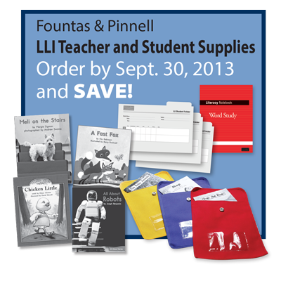 Now through september 30th save on lli take home books colorful use discount code little and receive a 30 discount off of list price the fountas pinnell leveled literacy intervention fandeluxe Gallery
