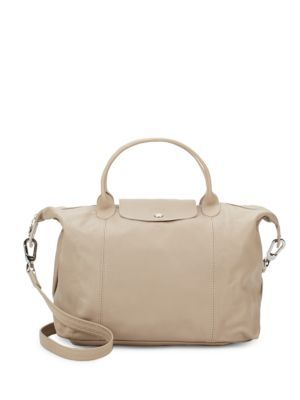 22f7900973c LONGCHAMP Le Pliage Cuir Top Handle Tote.  longchamp  bags  shoulder bags   hand bags  leather  tote  lining