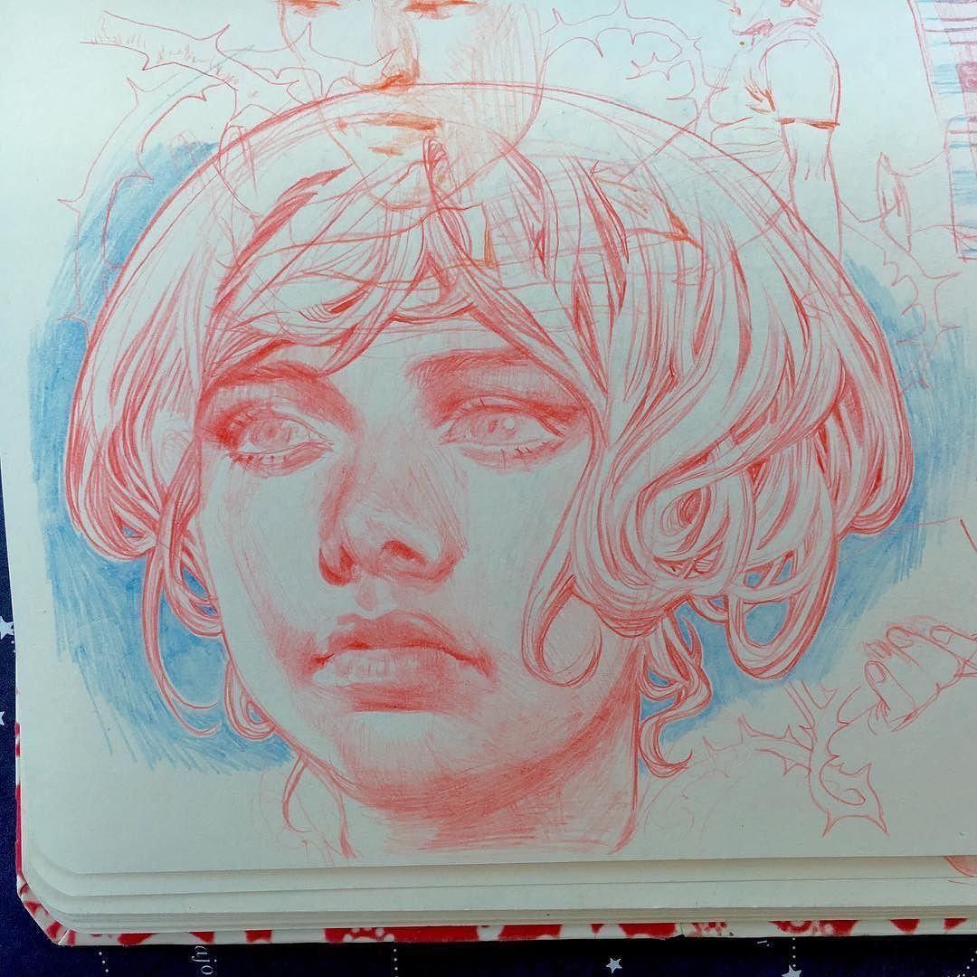 also something older :) #art #sketch #sketchbook #pencil #artwork by janaschirmer