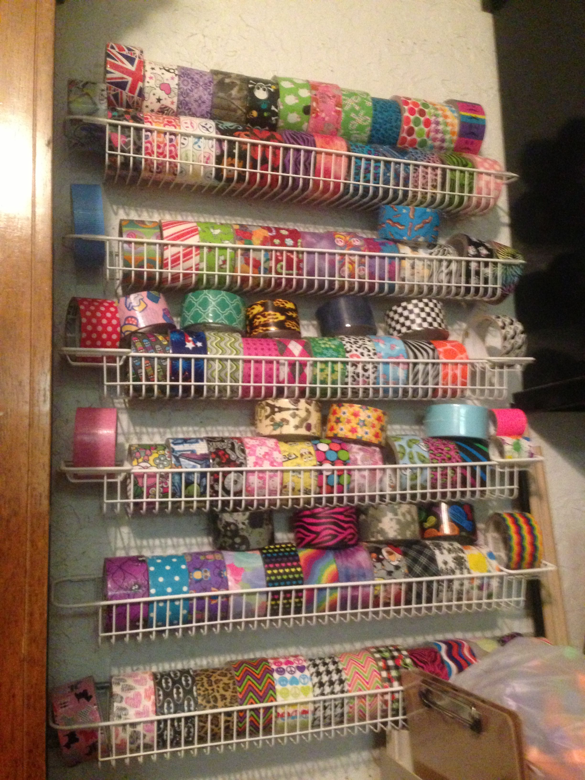 Duct Tape Storage Duck Duck Tape Creations Duct Tape