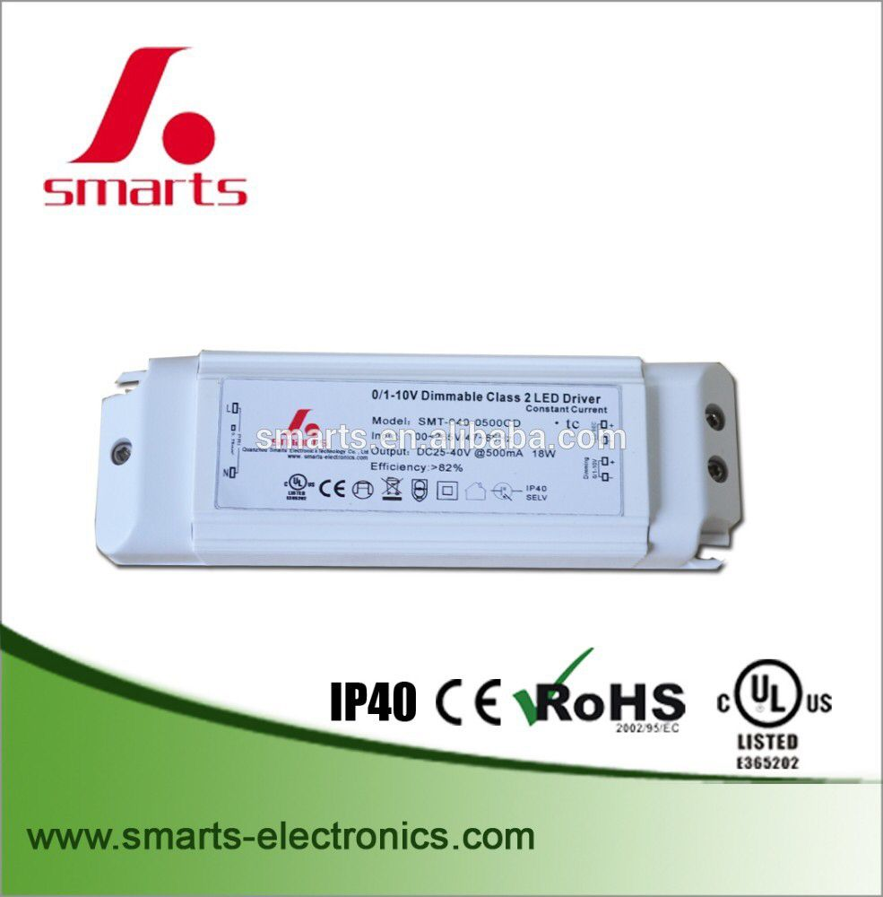 0 10v Dimmable 20 40v 500ma 20w Constant Current Led Driver Led Drivers Dimmable Led Led