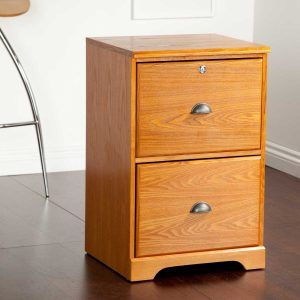 2 Drawer Wood Locking File Cabinet Filing Cabinet Wooden File Cabinet Wood File
