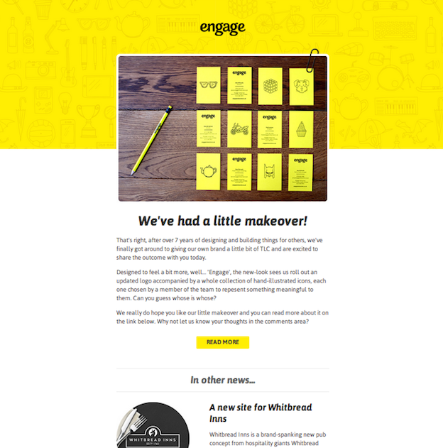 10 Compelling Approaches To Ramp Up Your Email Design Email Template Design Email Design Design
