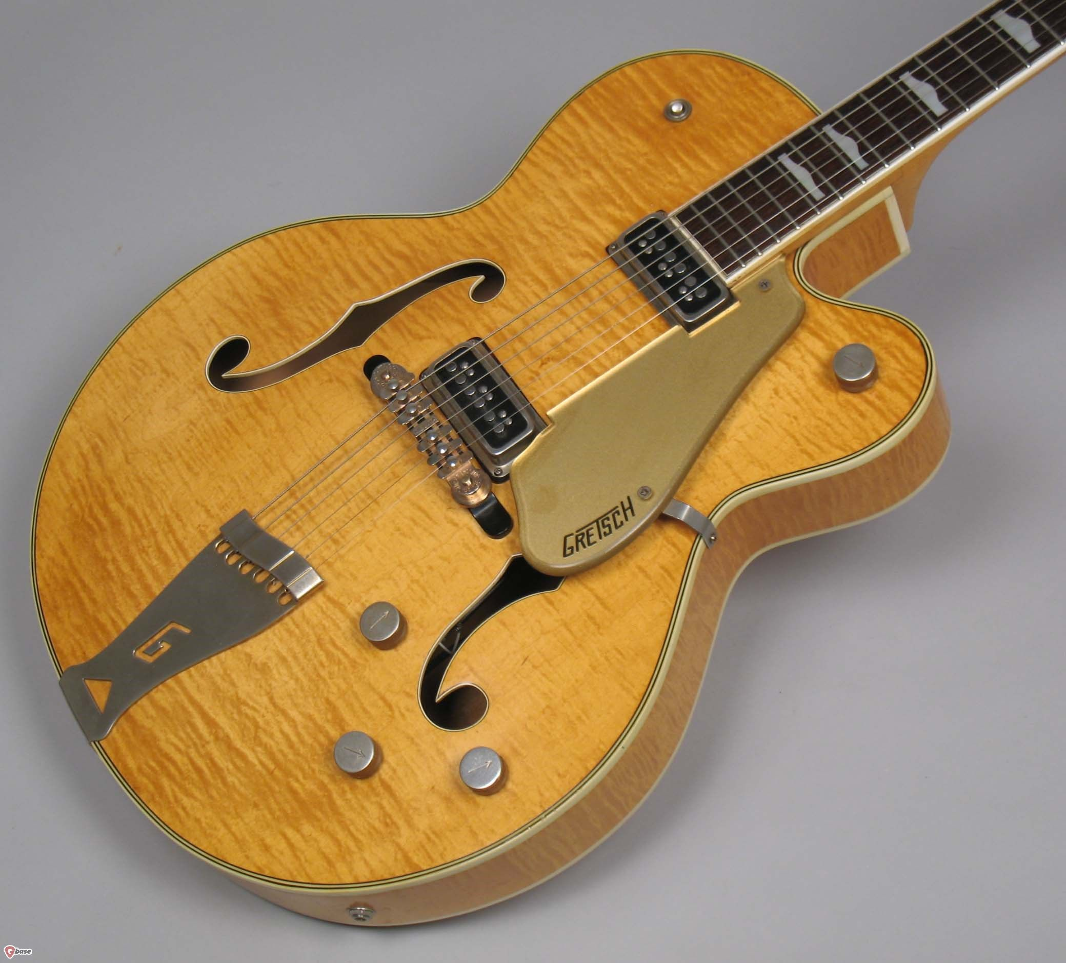 1956 Gretsch Country Club 6193 Natural Guitars Archtop Electric Synchromatic Wiring Diagram Acoustic Nationwide