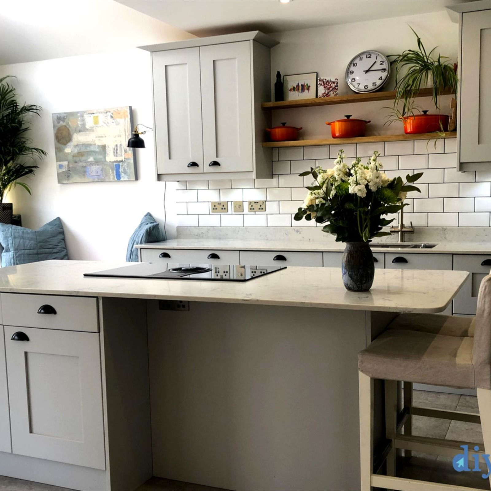 Norton Dove Grey in 2020   Cheap kitchen units, Real ...