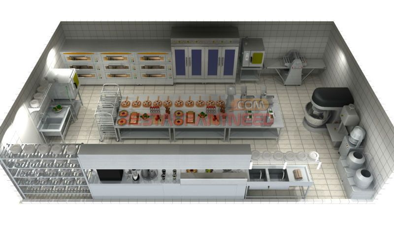 Imagen relacionada restaurante pinterest helader as for Distribucion cocina restaurante