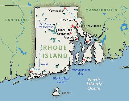 The State Of Rhode Island Been There Done That - Us map rhode island