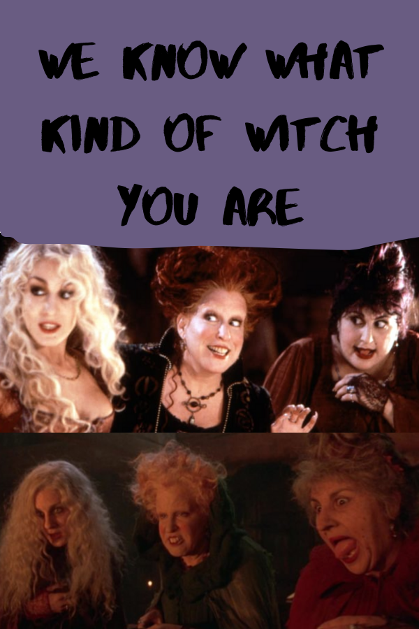 We Know What Kind of Witch You Are   Witch quiz, Types of