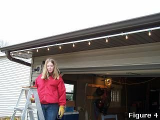 Easy Way To Put Up Xmas Lights Using Pvc Pipes Think That I Might Paint The Pipe Match Trim Of House