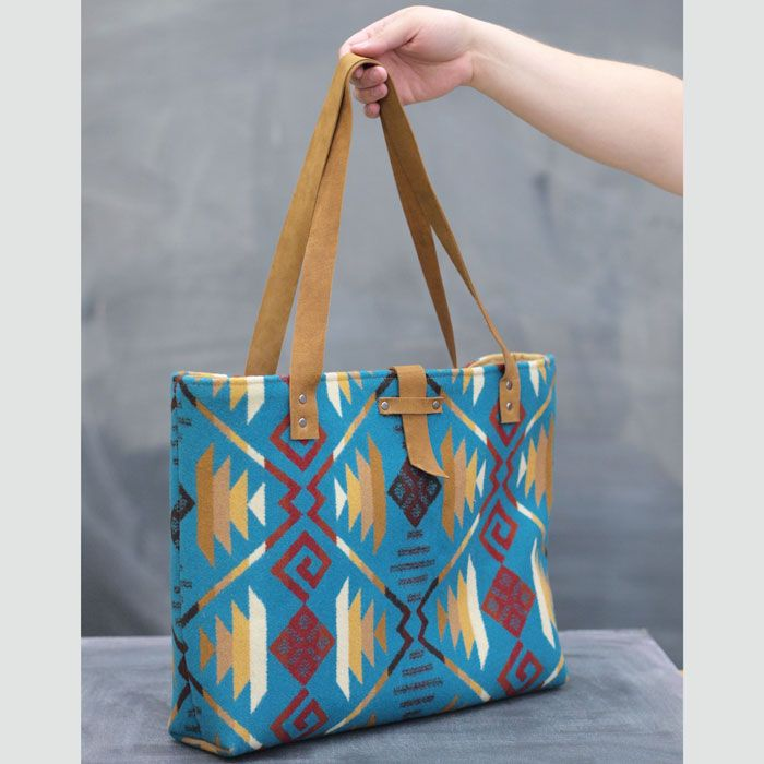 Pendleton Tote free PDF Pattern | Fancy Tiger Crafts | Bags ...