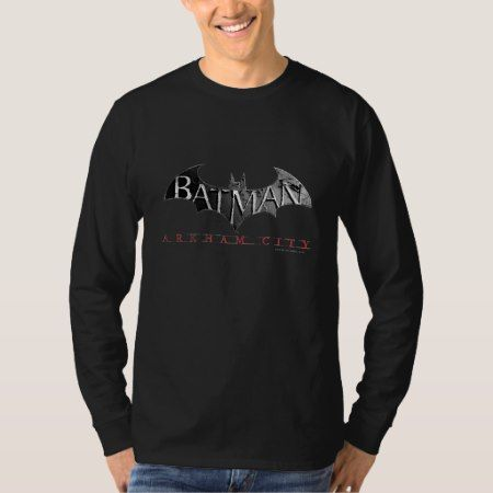 Batman Arkham City Logo T-Shirt - tap to personalize and get yours