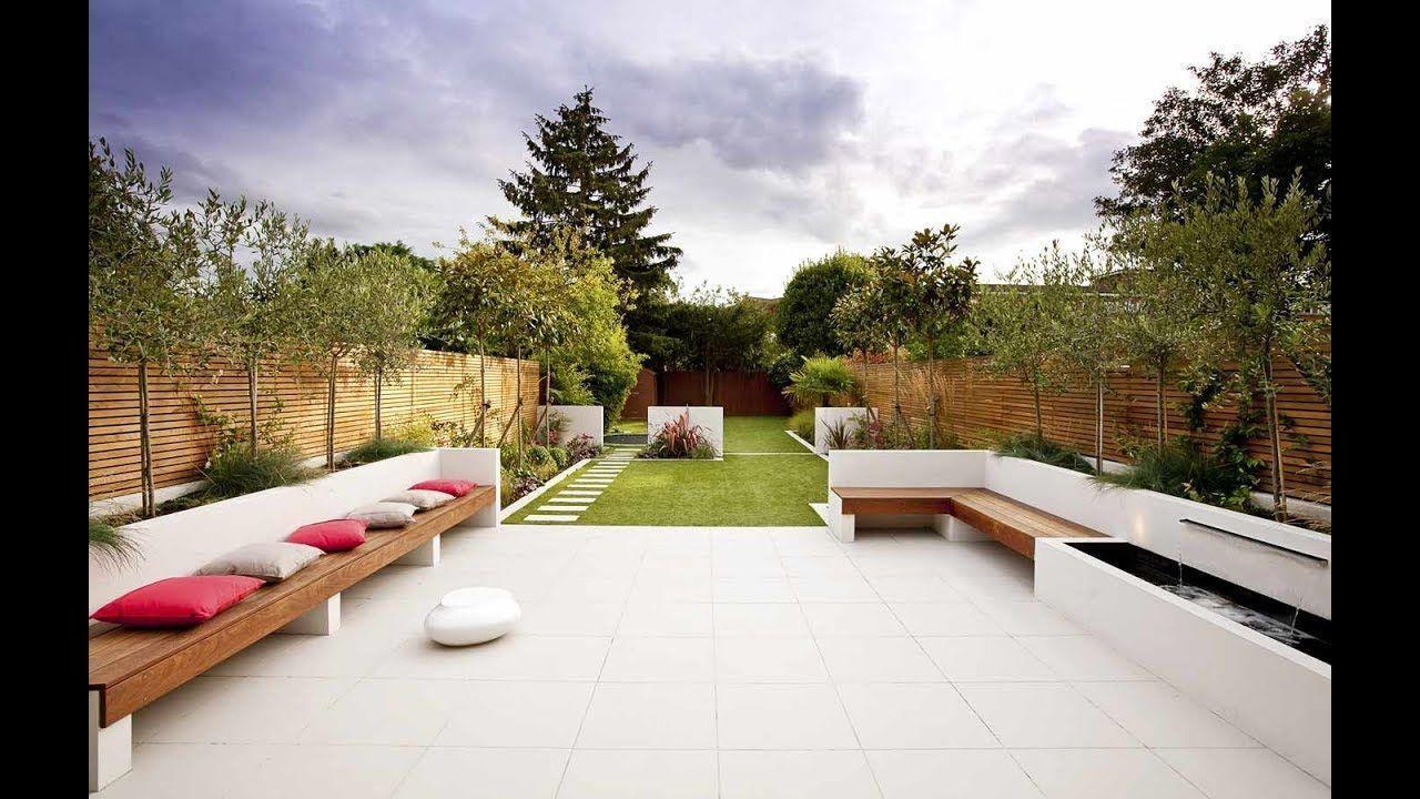 New Modern Garden Design Ideas 2019 Small And Big Garden Decoration A Decor New Modern Modern Garden Design Contemporary Garden Design Modern Garden