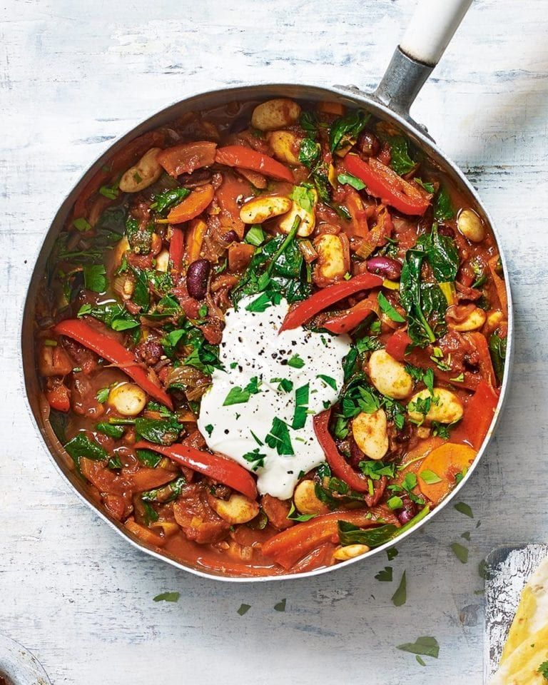 Butter Bean And Vegetable Stew