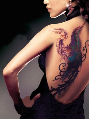 dragon tatouage chinois color dos femme tatouage femme movies movie posters et drama movies. Black Bedroom Furniture Sets. Home Design Ideas
