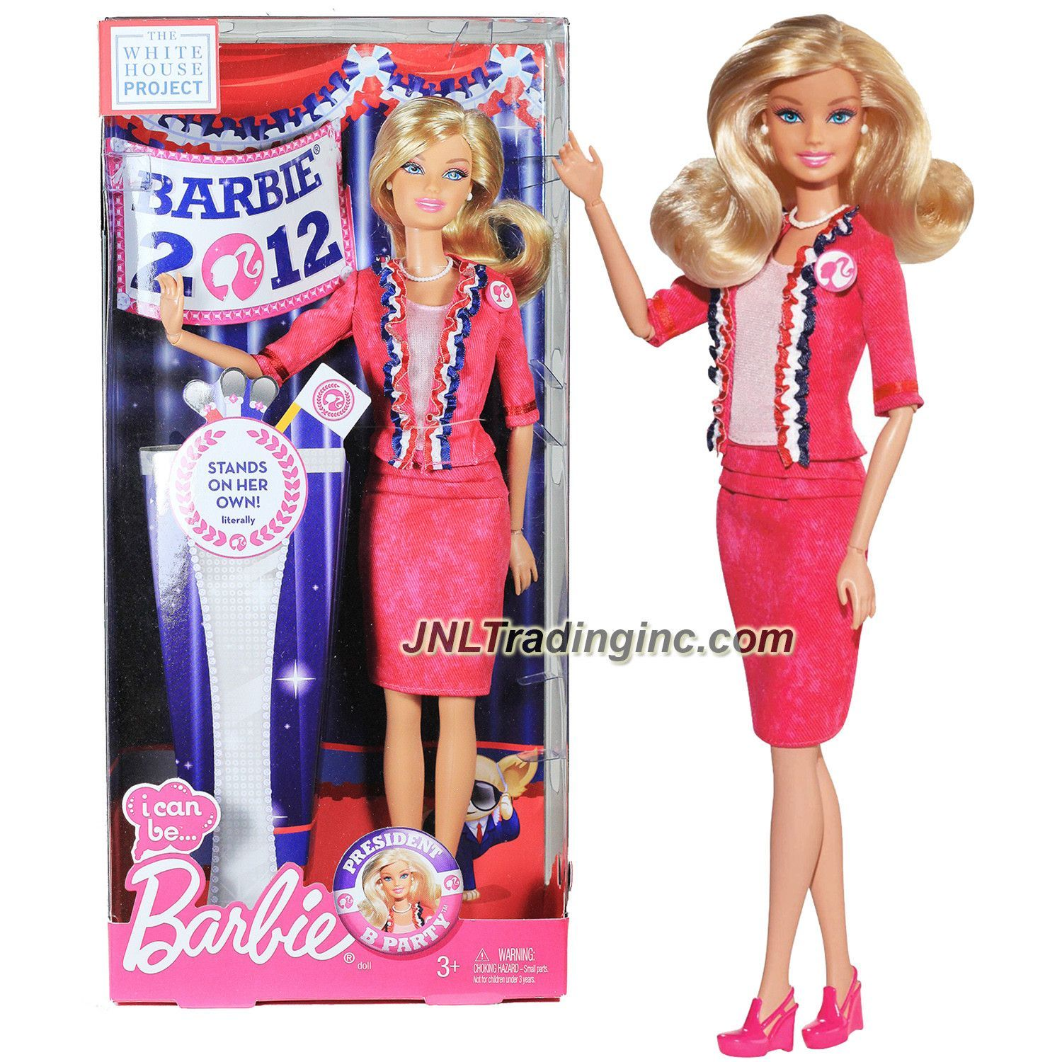 Barbie 2012  I Can Be President  Barbie New