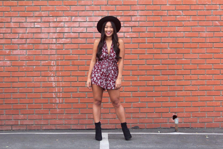 My Favorite Fall Rompers | Chelsea de Castro
