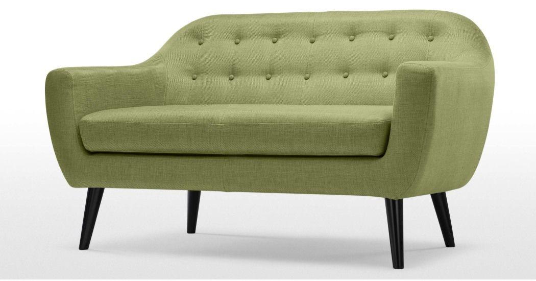 Ritchie 2 Seater Sofa Lime Green 2 Seater Sofa Sofa Sofa Sale