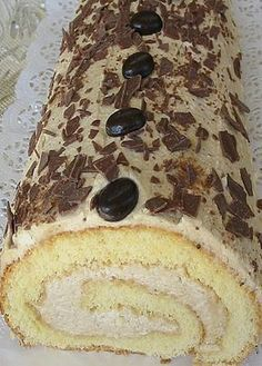 Photo of Sponge roll with coffee cream by sandy07 | Chef