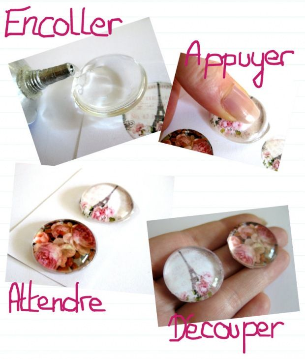 Tuto Faire Un Bijou Cabochon Jewelry Making Info